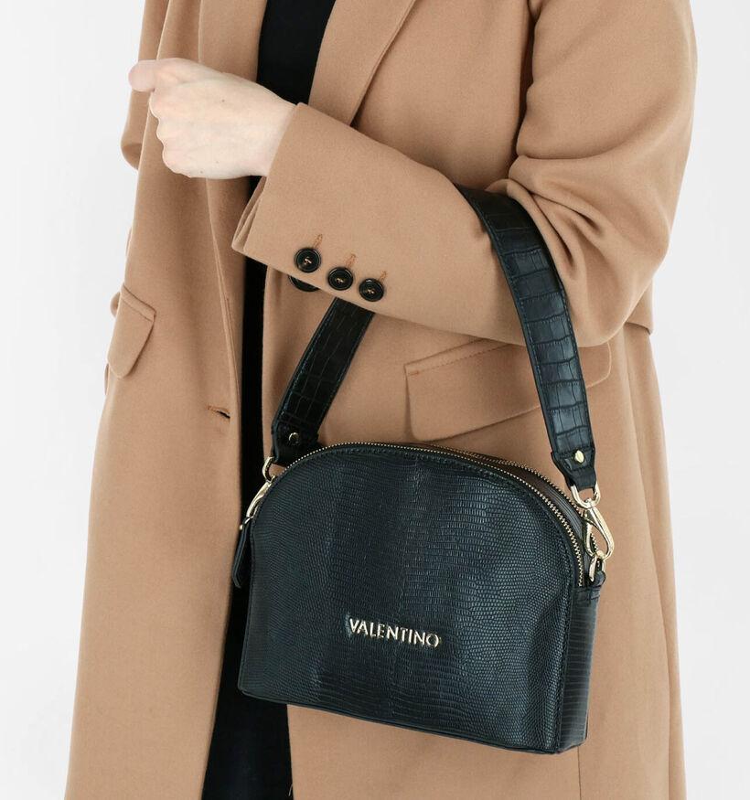 Valentino Handbags Kensington Zwarte Schoudertas in kunstleer (283144)