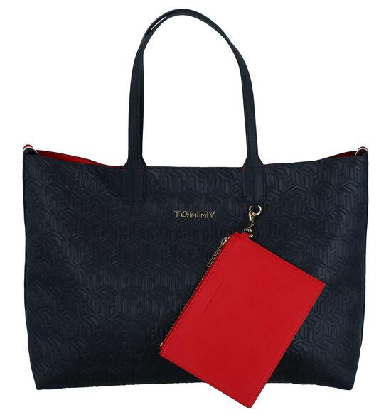Tommy Hilfiger Iconic Tommy Tote Blauwe Shopper
