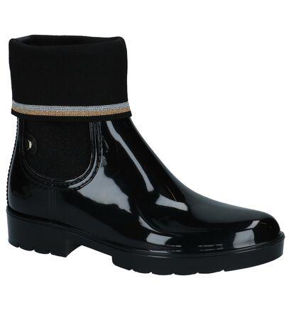 Tommy Hilfiger Zwarte Regenlaarzen, Zwart, pdp