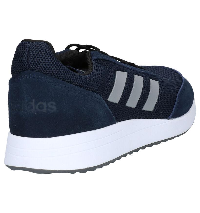 adidas Run 70S Zwarte Sneakers in daim (252559)