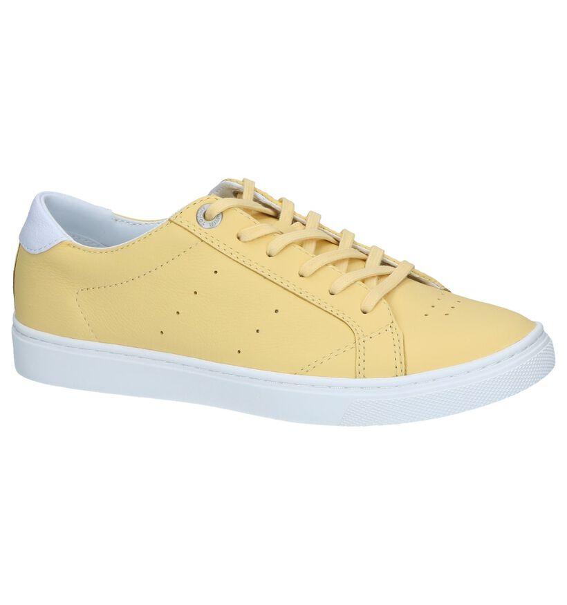 Gele Sneakers Tommy Hilfiger Pop Color City in leer (241747)