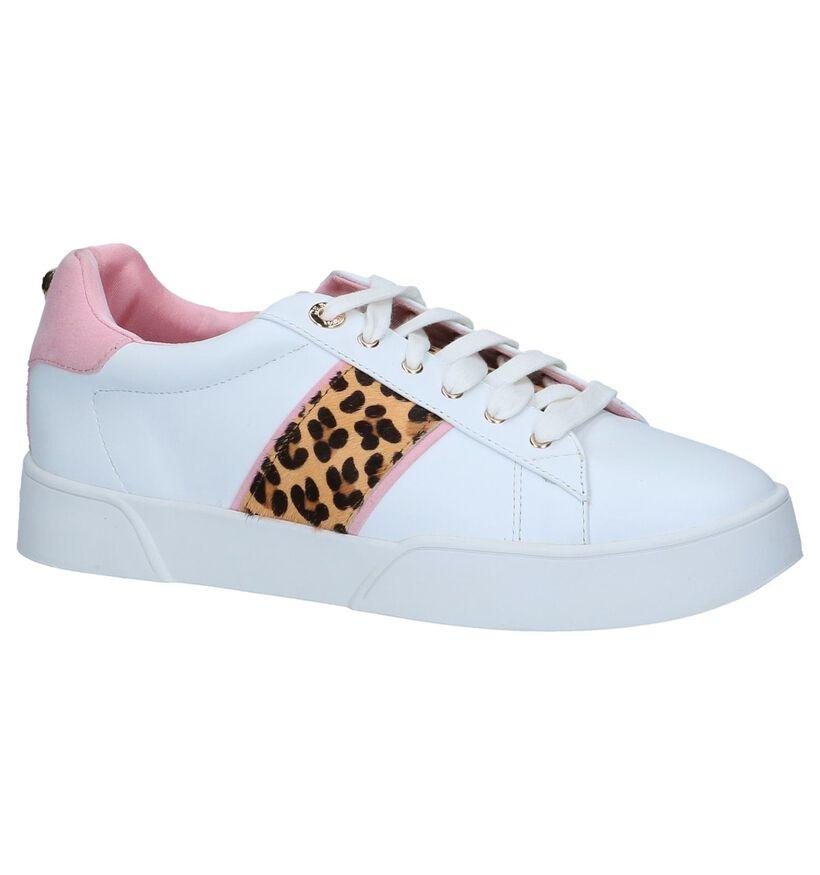 Witte Sneakers Dune Elsie in leer (240138)