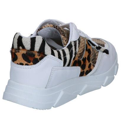 Tango Kady Witte Sneakers in imitatieleer (259642)