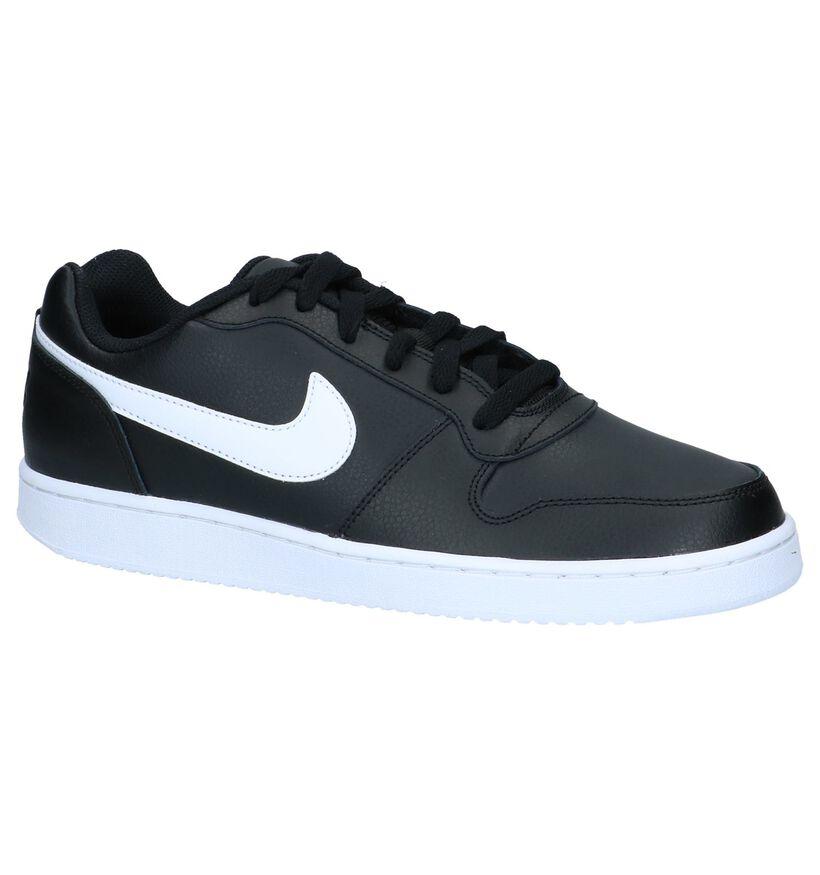 Zwarte Nike Ebernon Sneakers Sportief in kunstleer (234130)