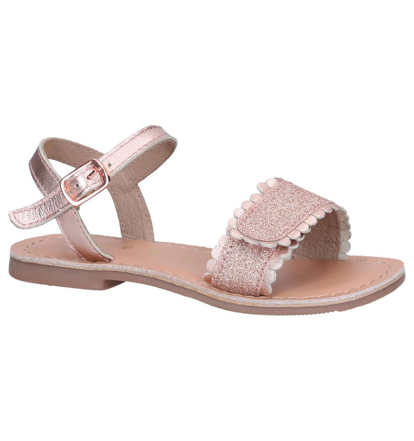 Rose Golden Sandalen Milo & Mila by Torfs in kunstleer (241259)