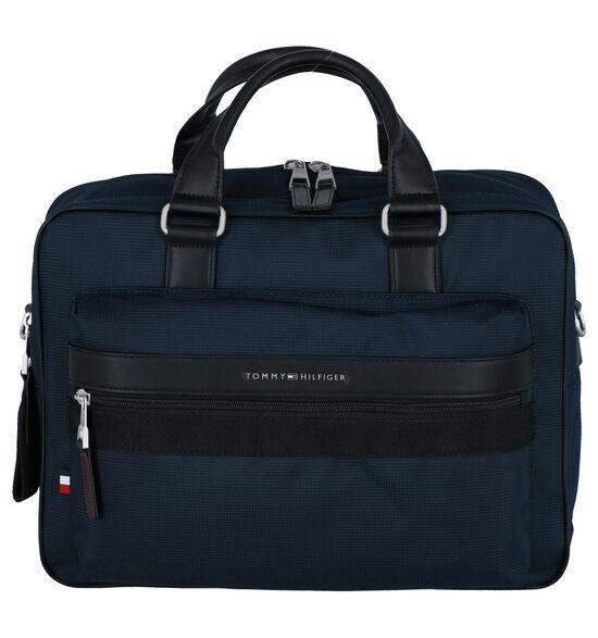 Tommy Hilfiger Elevated Blauwe Laptoptas