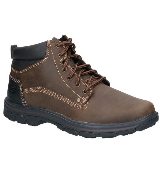 Skechers Segment Garnet Bruine Boots