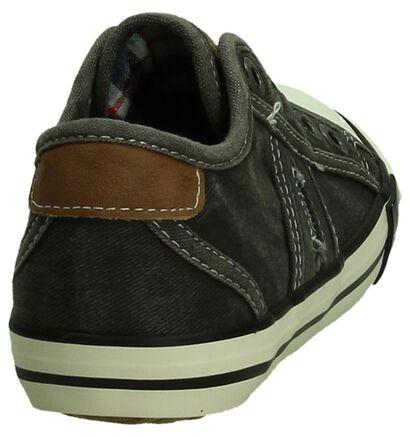 Mustang Grijze Slip-On Sneakers, Grijs, pdp