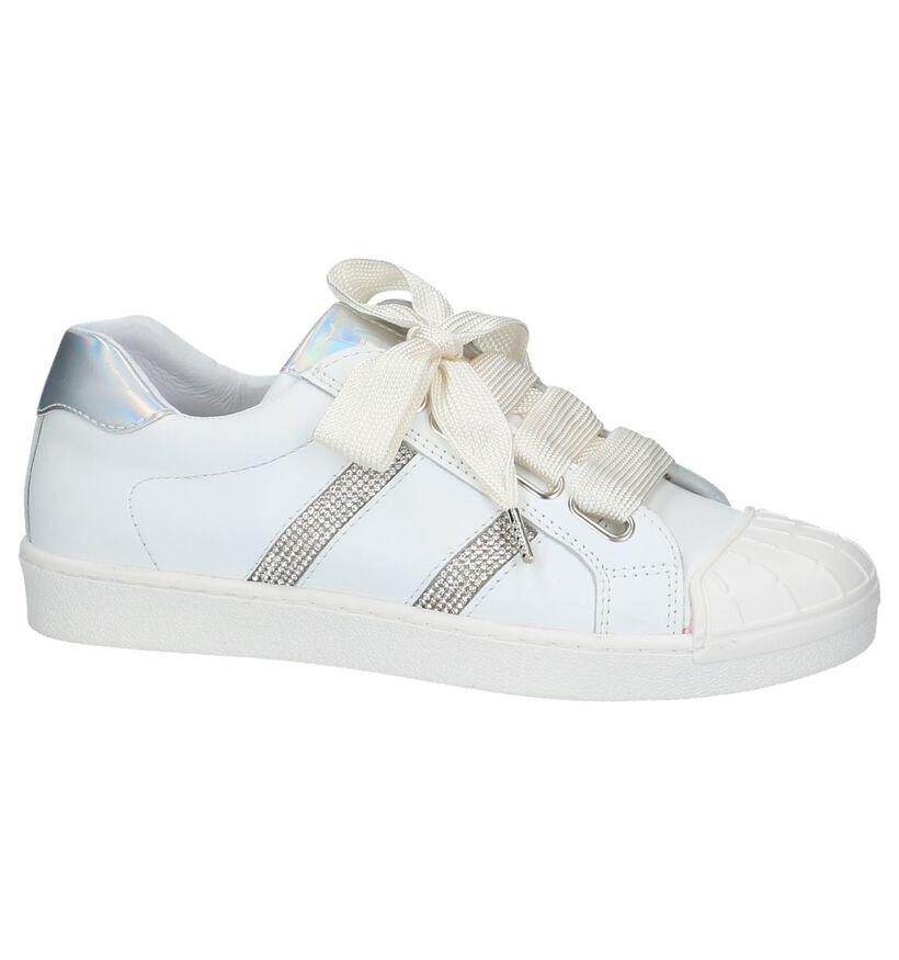 Little David Witte Sneakers in leer (217959)