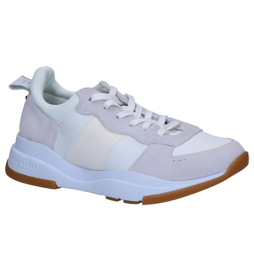 Ted Baker Waverdi Witte Sneakers in stof (252424)