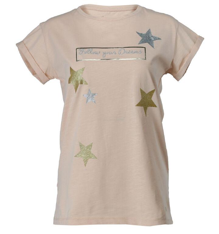 Maison Espin Roze T-shirt