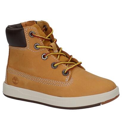 Timberland Davis Square 6 Inch Boots Zwart in nubuck (254736)