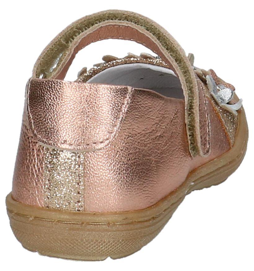 Little David Lea Roze Ballerina in leer (217956)