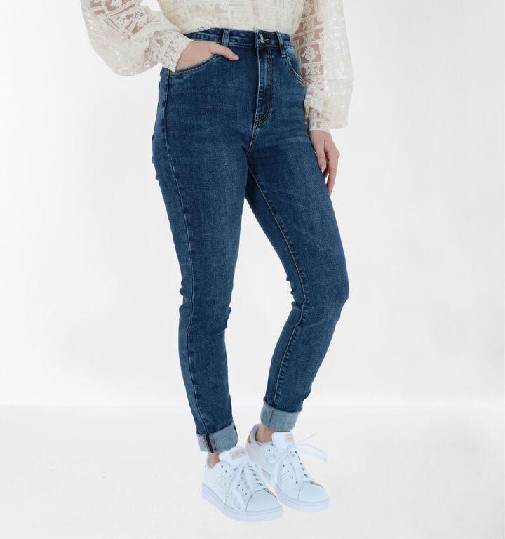Toxik Blauwe Skinny Jeans
