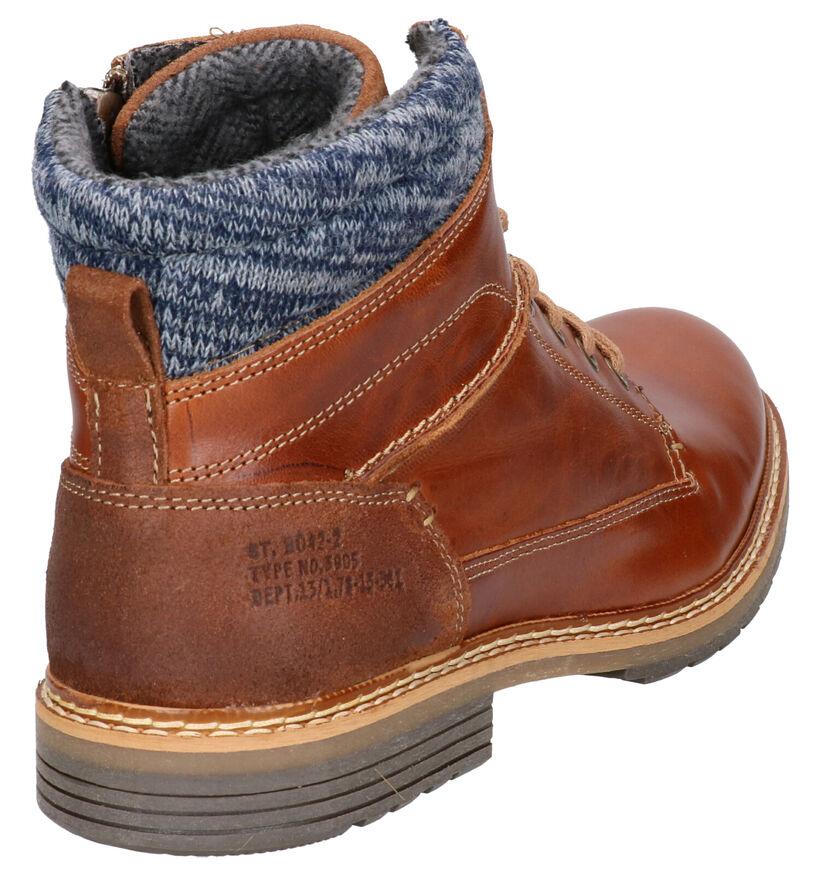 Bullboxer Kaki Boots in stof (252795)