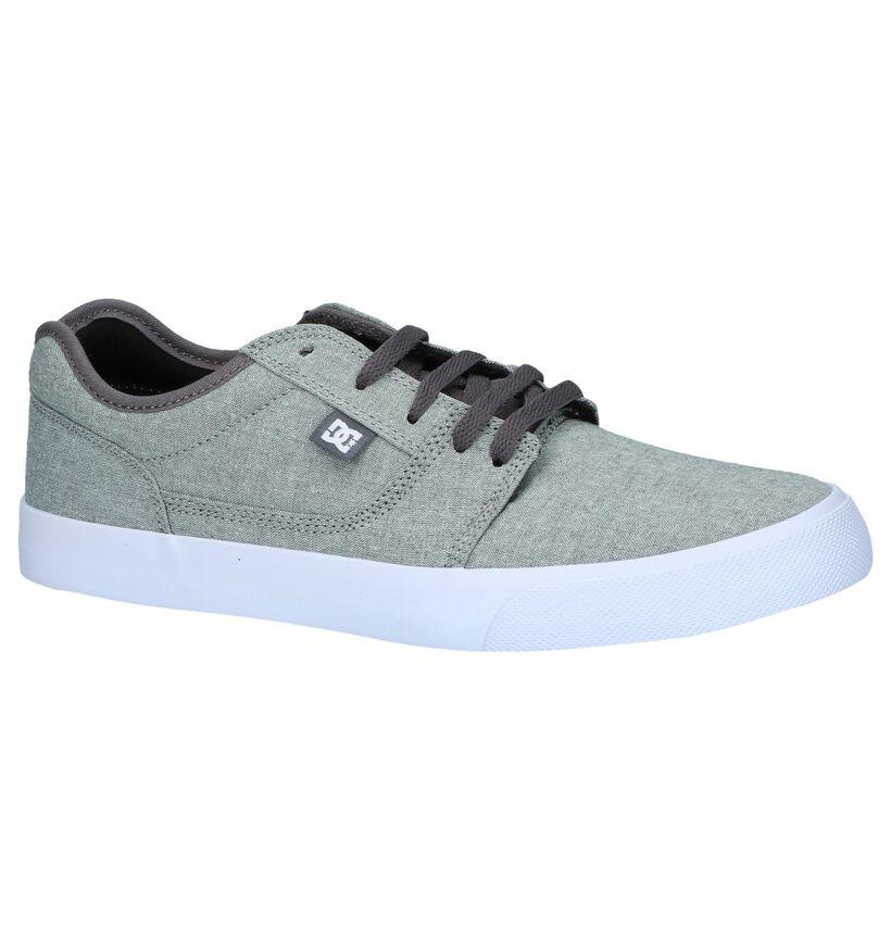 DC Shoes Tonik Grijze Skateschoenen in stof (263839)