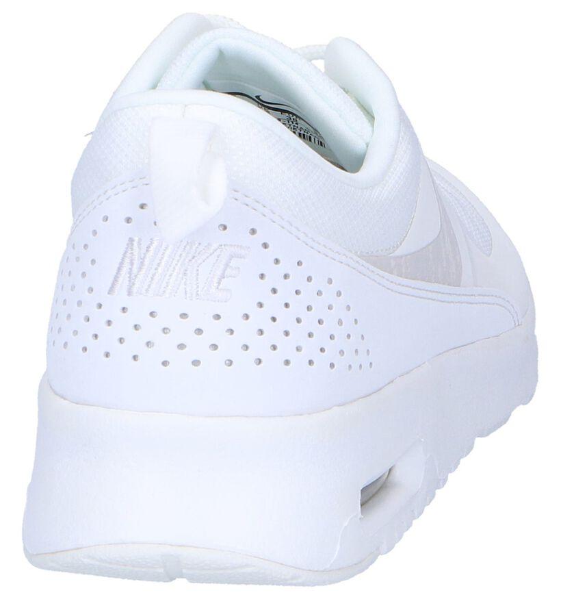 Zwarte Sneakers Nike Air Max Thea in kunstleer (250245)