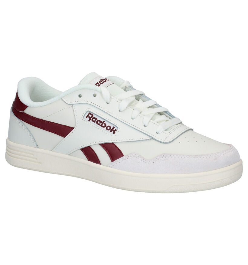 Reebok Royal Techqu Witte Sneakers in leer (284785)