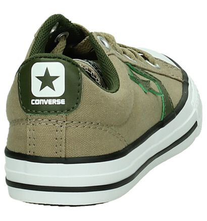 Lage Sneakers Zwart Converse Cons Star Player, Beige, pdp