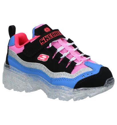 Skechers Ice Lights Sneakers Multi in daim (265174)