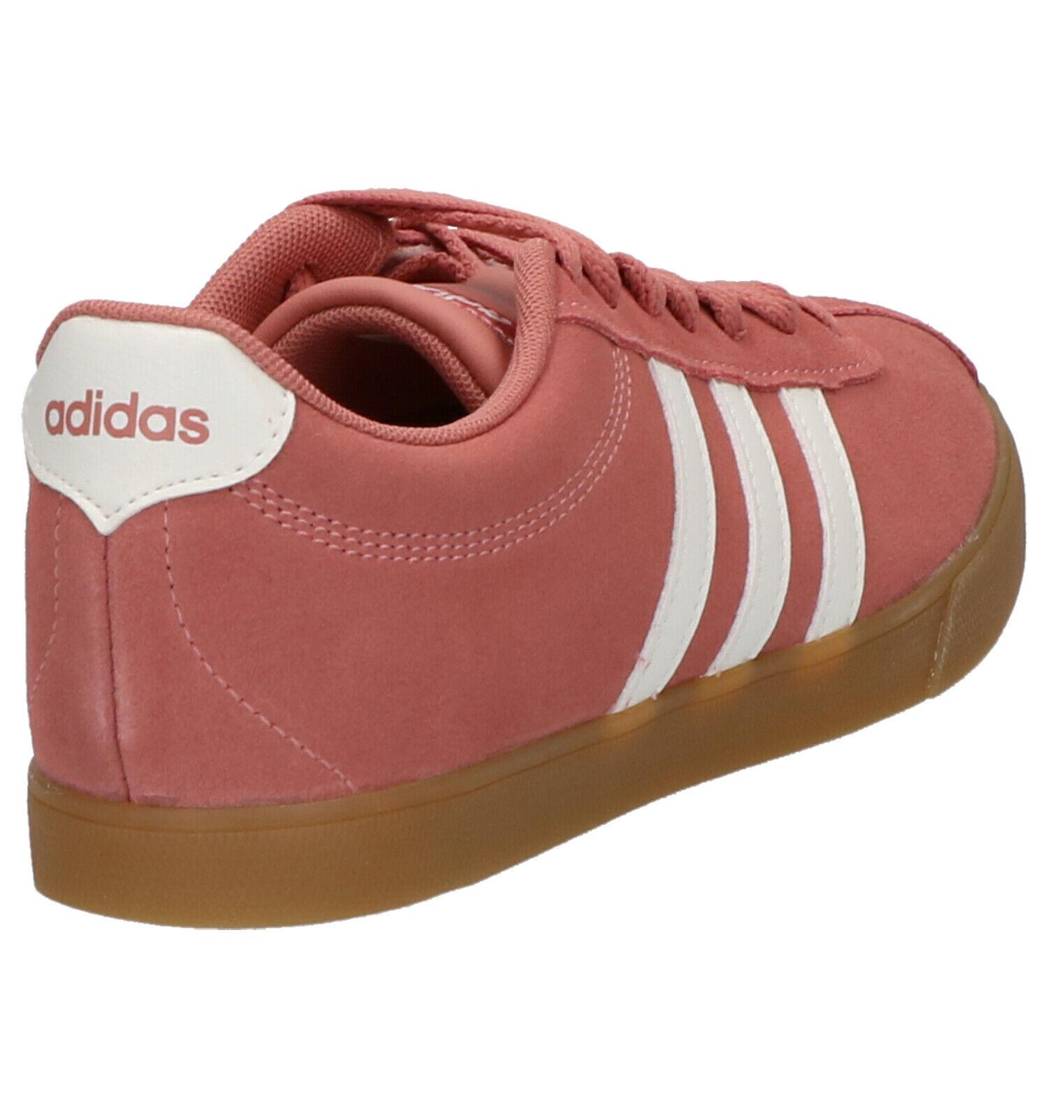 adidas Courtset Roze Sneakers