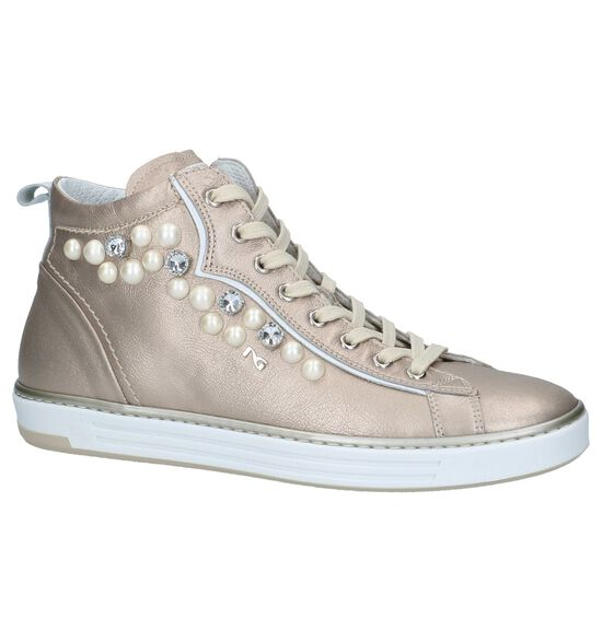 Rose Gold NeroGiardini Sneakers