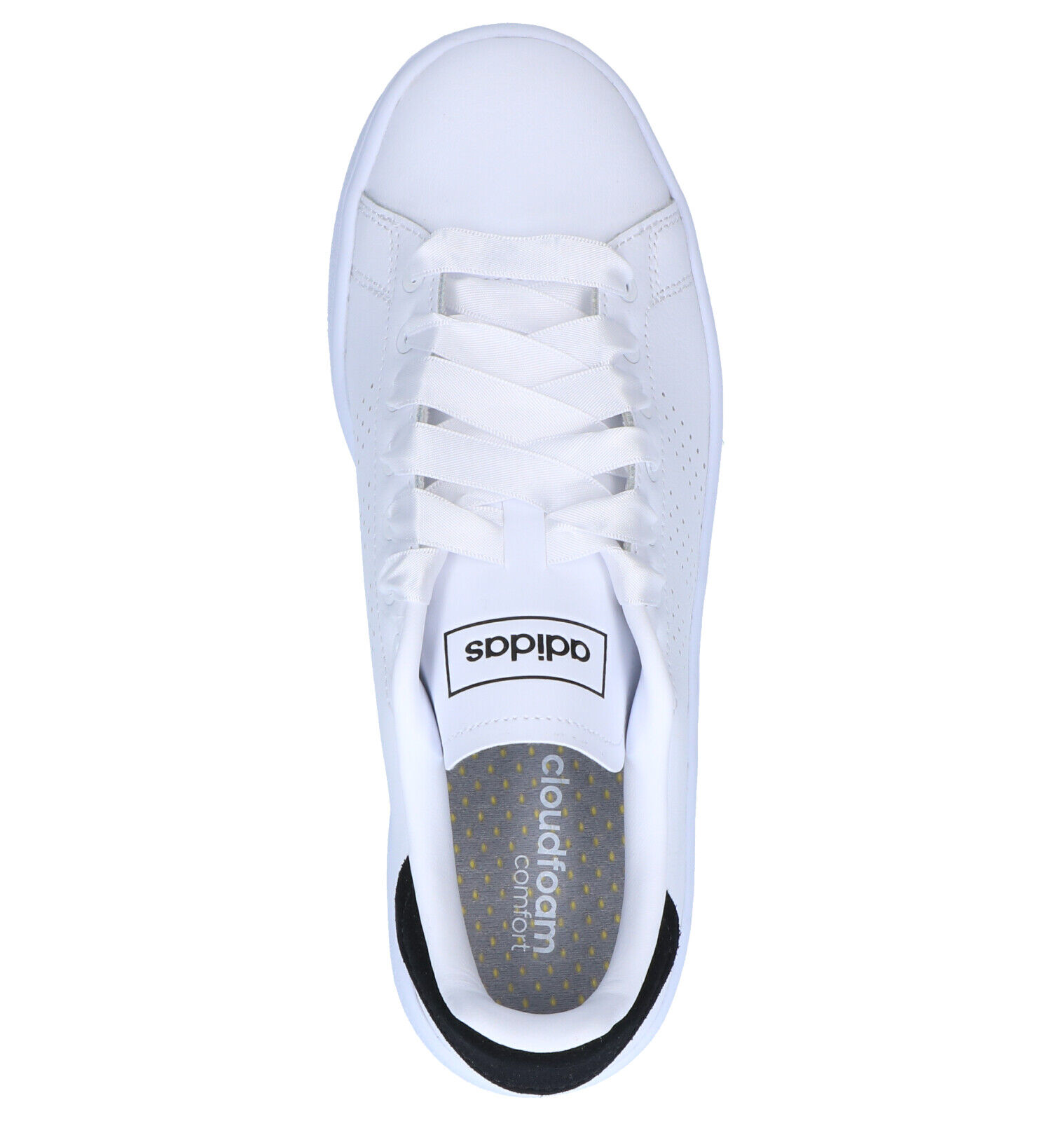 adidas Advantage Bold Witte Sneakers