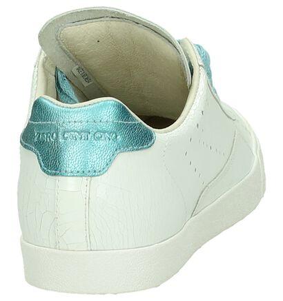 Witte Sneaker Zéro Cent Cinq , Wit, pdp