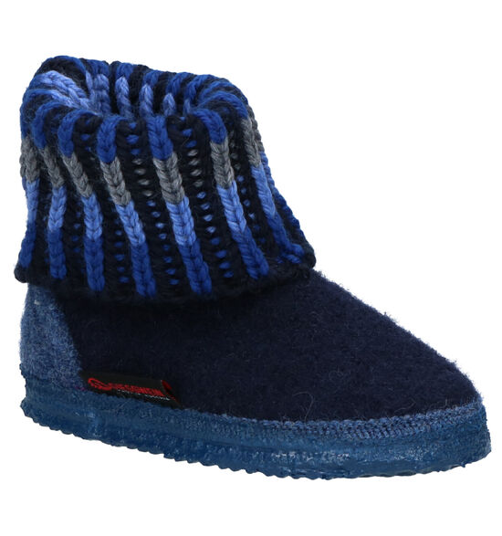 Giesswein Blauwe Pantoffels