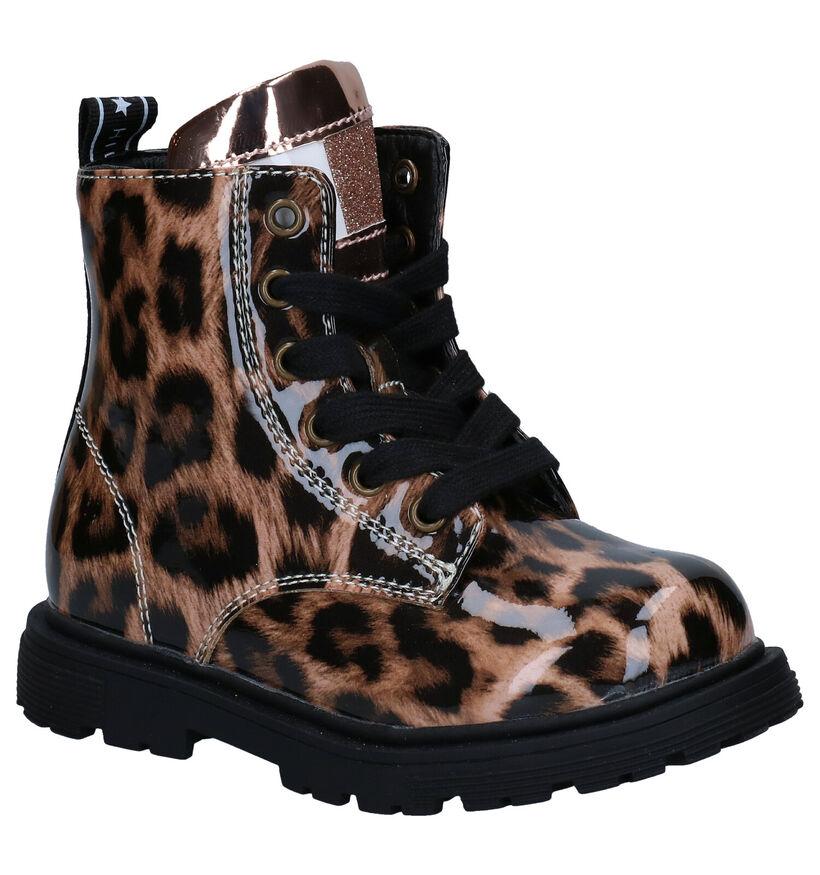 Tommy Hilfiger Bruine Boots in kunstleer (279883)