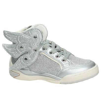 Hoge Sneakers Geox Zilver in kunstleer (170546)