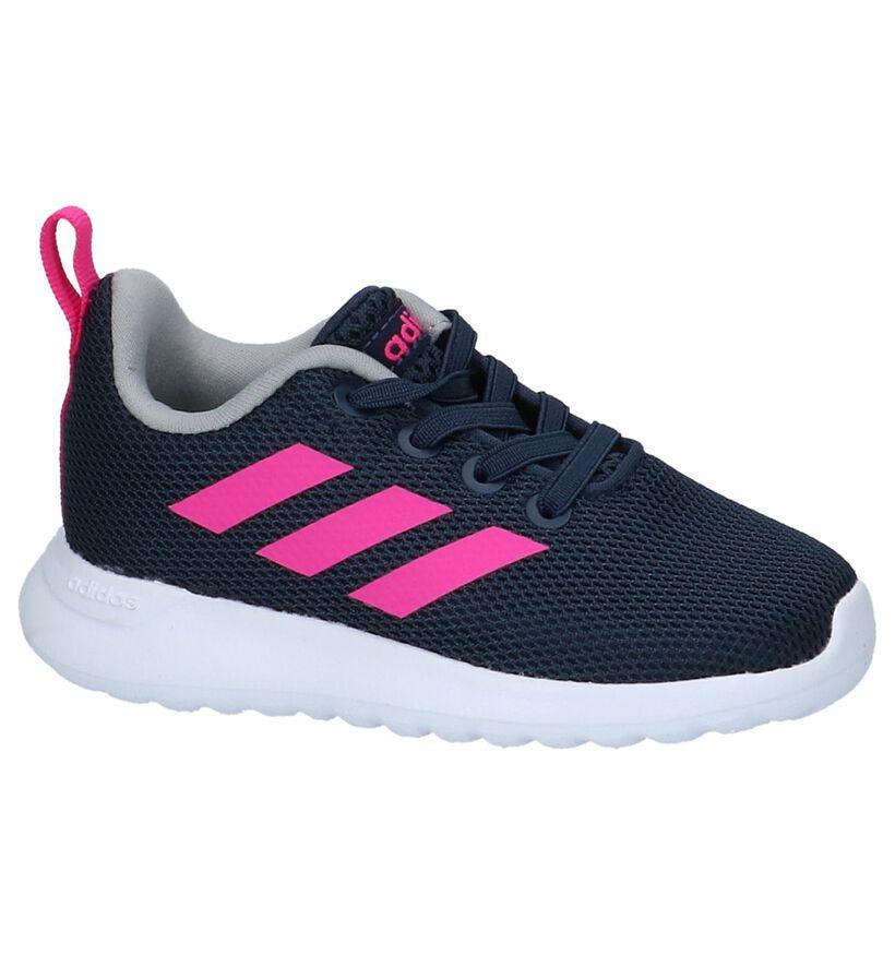 Blauwe Sneakertjes adidas Lite Racer in stof (221816)
