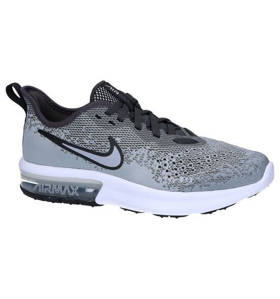 Grijze Sneakers Nike Air Max Sequent