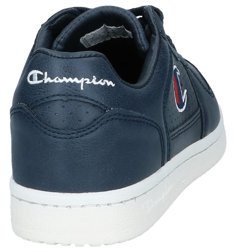 Champion Chicago Witte Sneakers in kunstleer (265805)