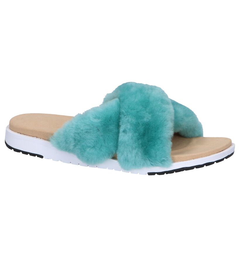 Grijze Slippers EMU Mareeba in wol (245682)