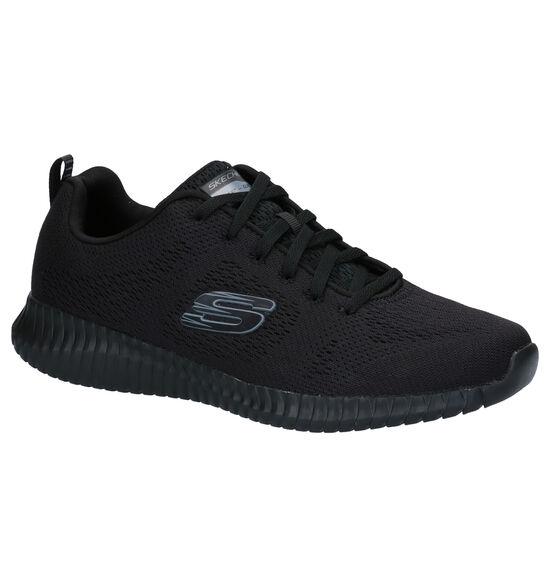 Skechers Elite Flex Zwarte Sneakers