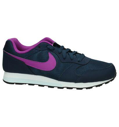 Zwart/Roze Sneakers Nike MD Runner 2, Blauw, pdp