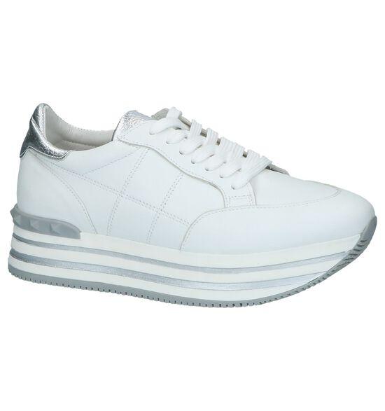 Witte Lage Geklede Sneakers Via Limone by Torfs