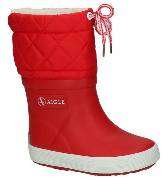 Aigle Giboulee Rode Regenlaarzen