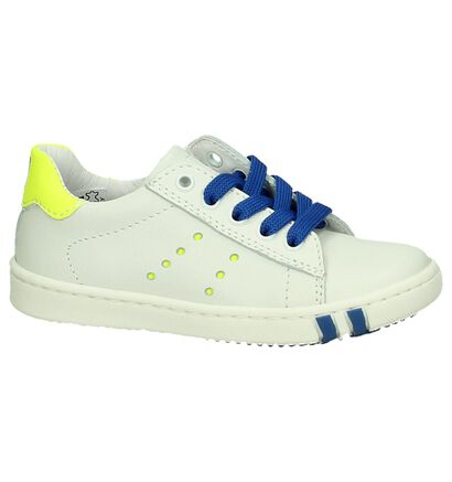 Bumba by Torfs Witte Rits/Veter Babysneakers, Wit, pdp
