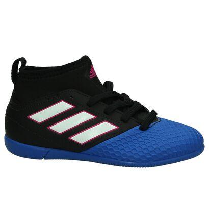 Blauw/Zwarte Sportschoenen adidas Ace in imitatieleer (189539)