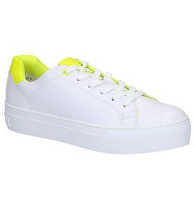 Marco Tozzi Witte Sneakers in kunstleer (265851)