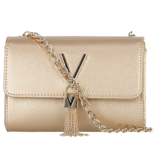 Valentino Handbags Gouden Crossbody Tas