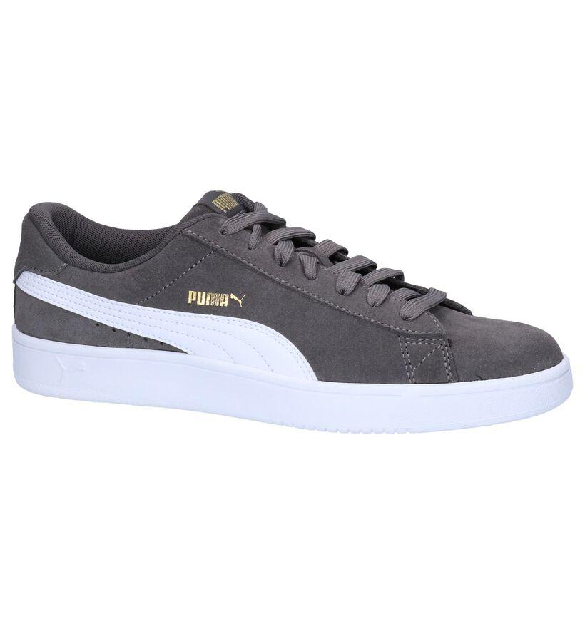 Zwarte Puma Court Breaker Derby Sneakers in nubuck (252600)