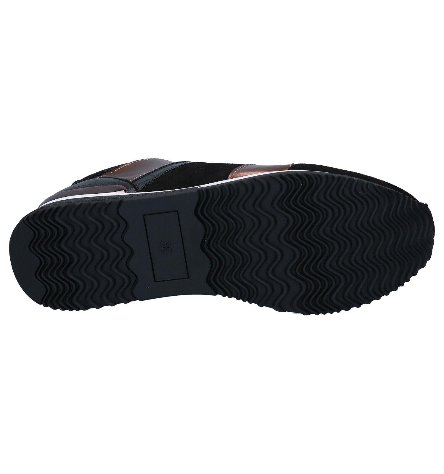 La Strada Zwarte Sneakers