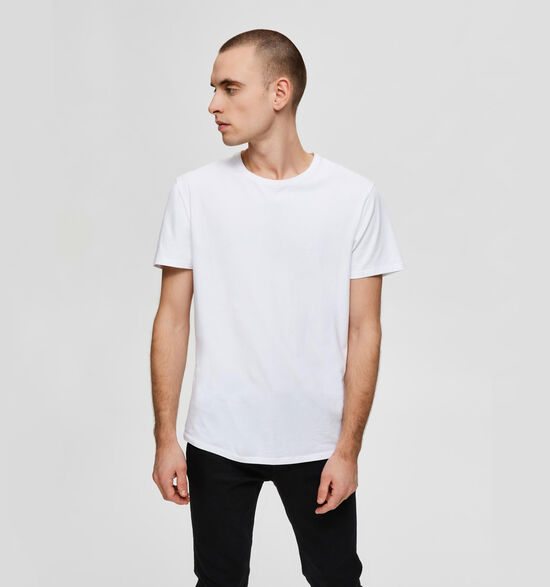 Selected Homme 3 Pack Witte T-shirts