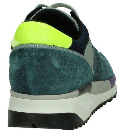 P448 Brooklyn Sneaker Blauw , Blauw, pdp