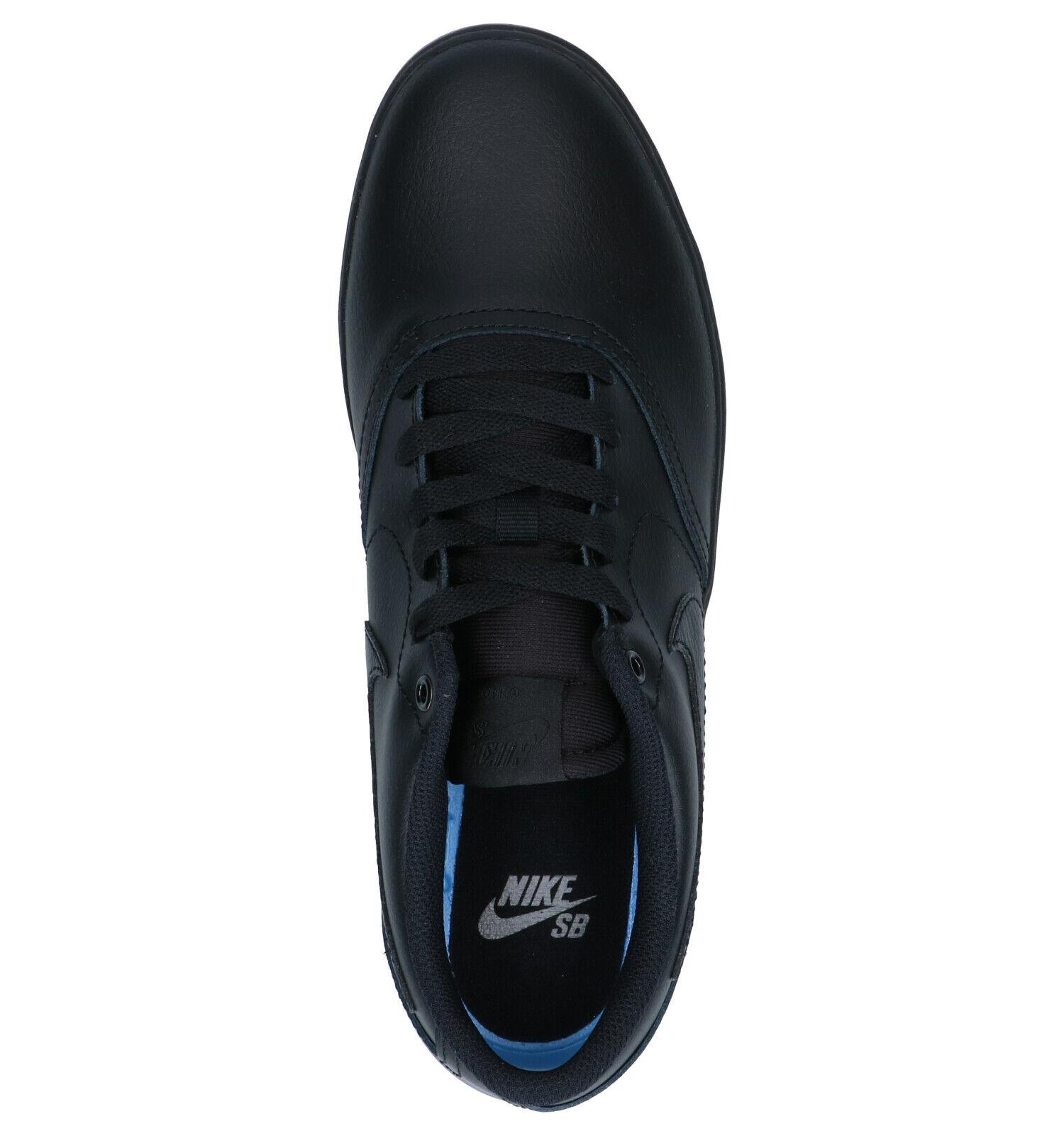 Nike SB Check Solar Zwarte Skateschoenen