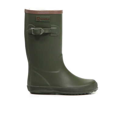 Regenlaarzen Aigle Kaki in rubber (161544)