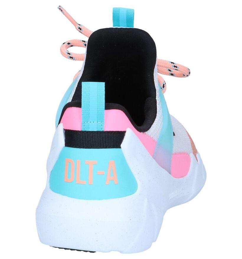 Witte Sneakers Skechers DLT-A True Summer in kunstleer (251974)